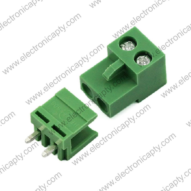 Conector block de 2 pin 5.08mm