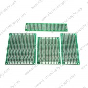 Kit de tarjetas para Circuito Doble Side (20x80mm / 30x70mm / 40x60mm / 50x70mm)