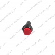 Boton interruptor ON-OFF Rojo 12mm