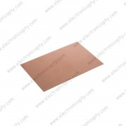 Placa para Circuito One-Side FR4 con rebestimiento de cobre 100x150x1mm