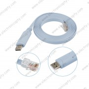 Cable de Consola Para Router Cisco USB a  RJ45