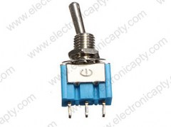 Mini Interruptor - 2 posiciones 3 Pin 6A 125V AC