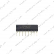 Circuito Integrado 74145 Decodificador Decimal BCD (SN74LS145) DIP-16