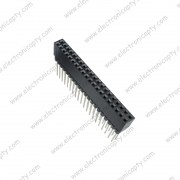 Conector 40 Pin Hembra a 2.54mm para Placa