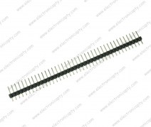 40 Pin Macho (Male Header) a 2.54mm Negro