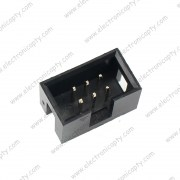 Conector Pin Socket Doble 6 Pin (2x3) para Soldar en Placa