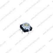 Boton Pulsador LED Blanco 12x12x7.3mm