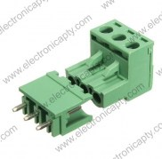 Conector block de 3 pin 5.08mm
