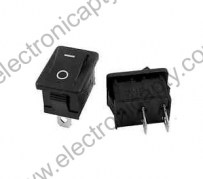 Mini Interruptor S654 2 Pin (ON / OFF)