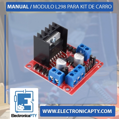 Manual / Modulo L298 para Kit de Carro